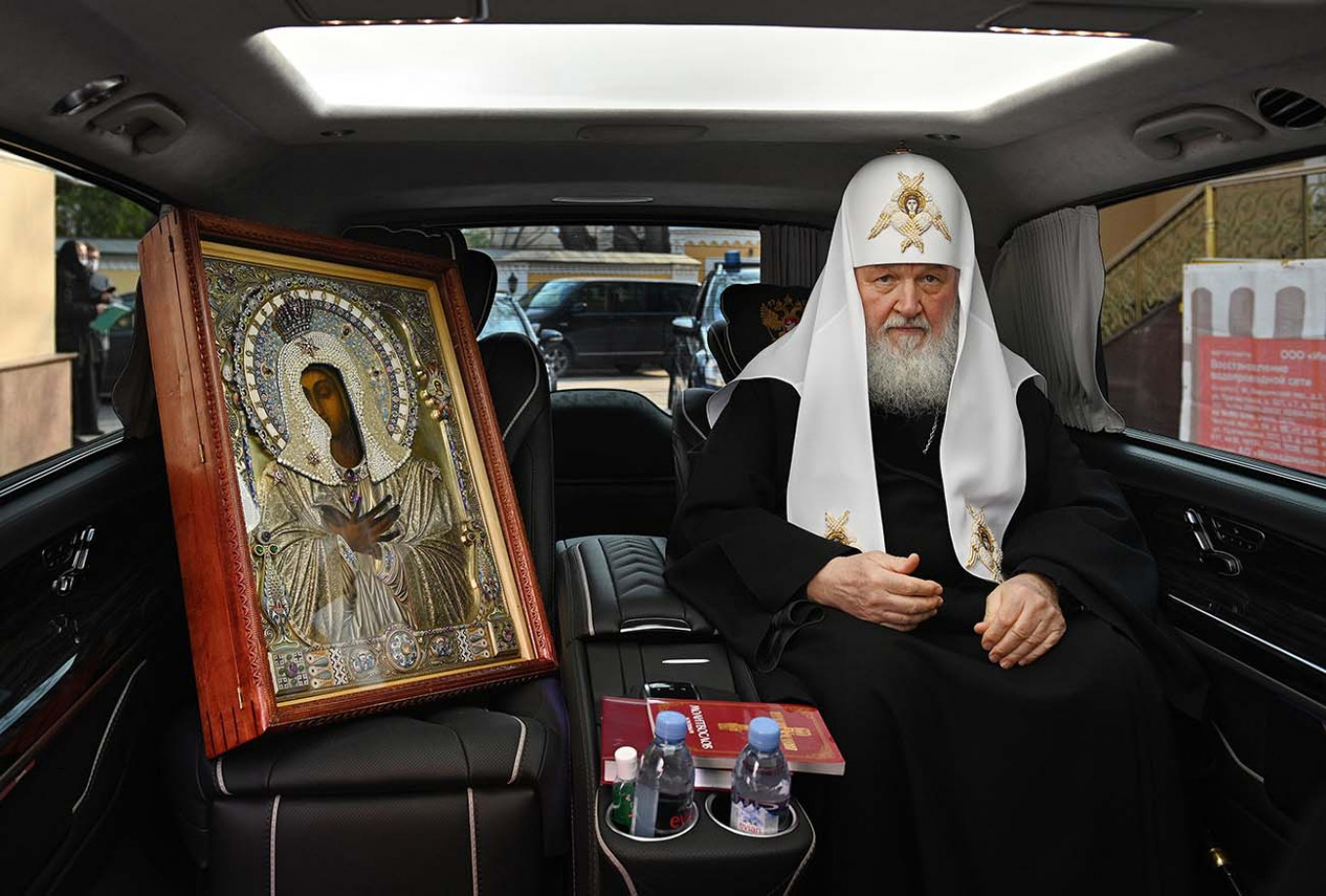 Oleg Varov / Press Office of the Patriarch of Moscow and all Russia / TASS