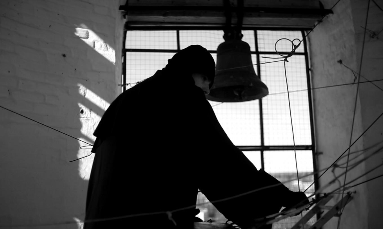 """Still from the film """"The Bell"""" Courtesy of Nadya Zaharova, Denis Smagin, Philipp Gorbachev"""