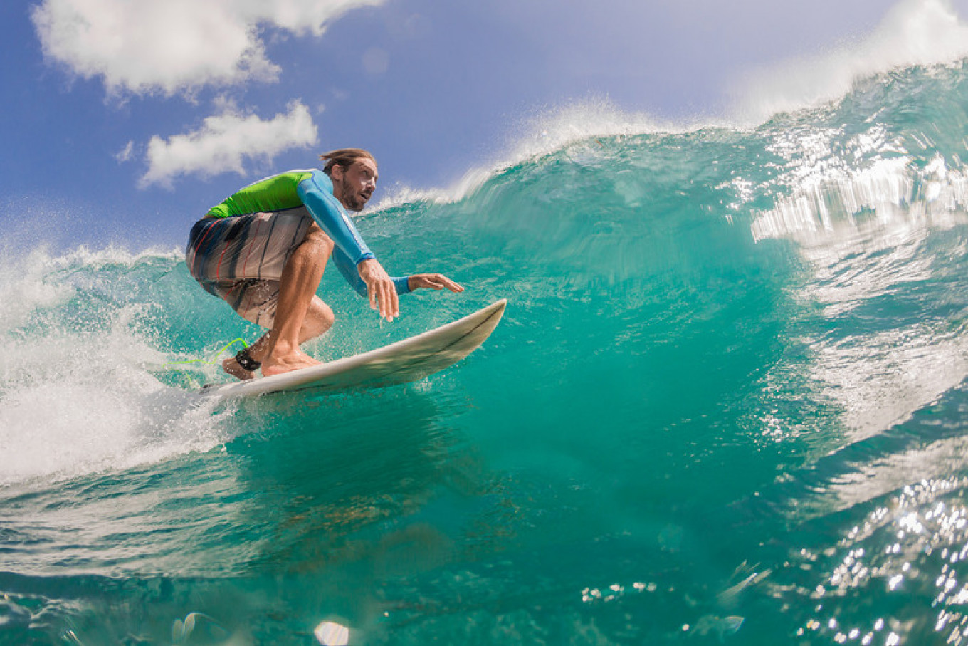 Competitive surfer Yevgeny Isakov says it will take several generations for surfers to be seen as professional athletes in Russia. Courtesy of Yevgeny Isakov