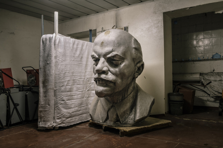 Lenin in Chernobyl, 2015.  Niels Ackermann / Lundi 13 / FUEL Publishing