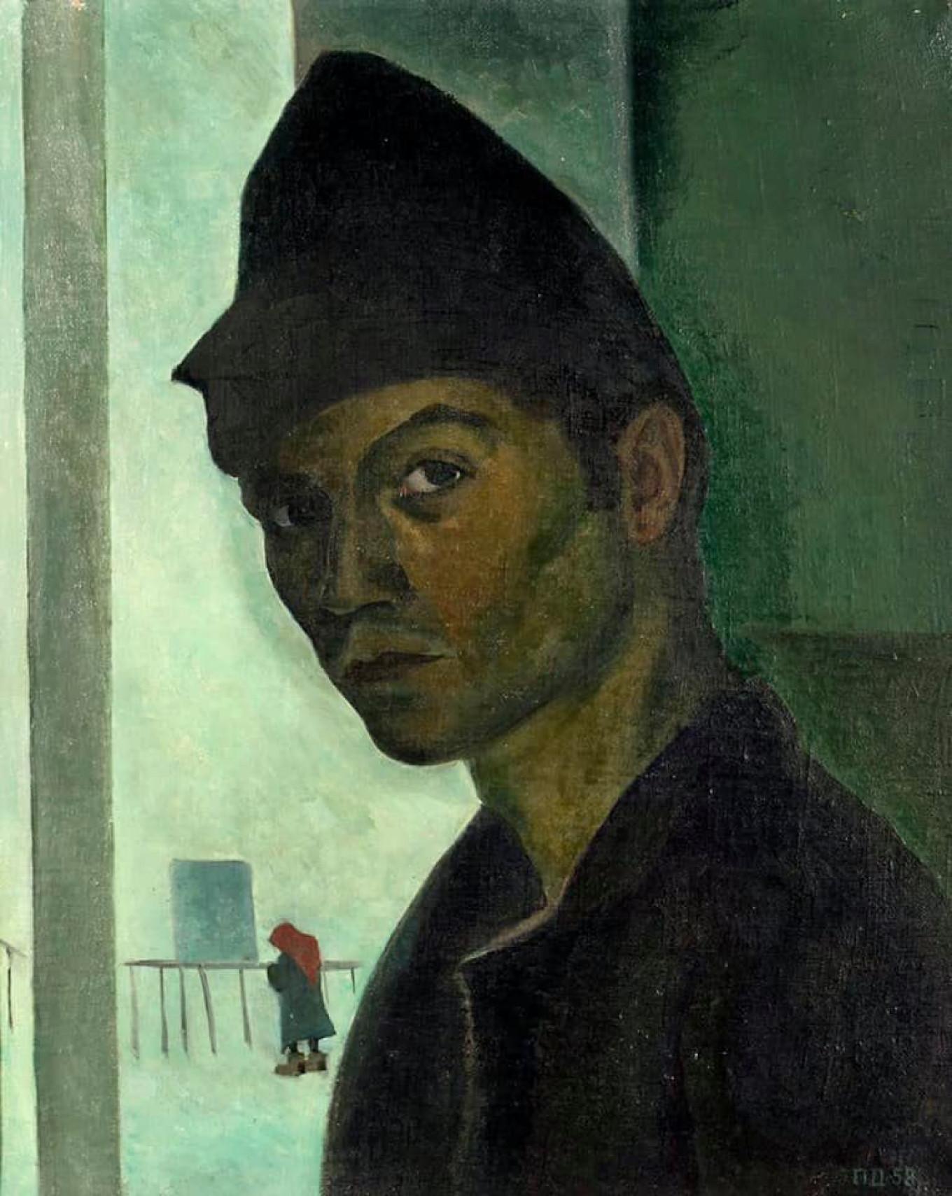 """Self-Portrait,"" Dmitry Plavinsky AZ Museum"