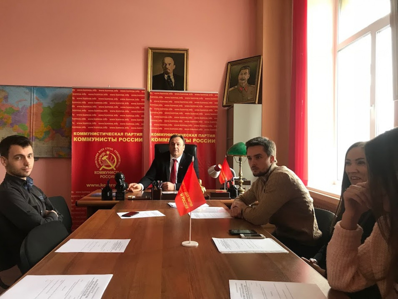 Ruslan Khugaev, the Deputy Chairman of Suraikin's party, the Communists of Russia Evan Gershkovich