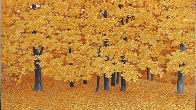 """Autumn. Sparrow Hills,"" 1996 by Vladimir Serebrovsky  Courtesy of Mamontov Gallery"