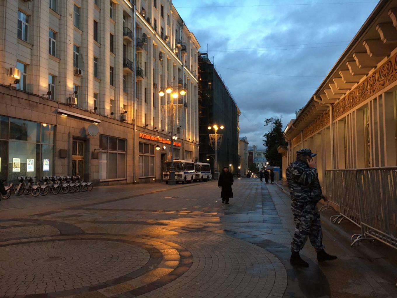 The streets have cleared Ksenia Churmanova/ For MT