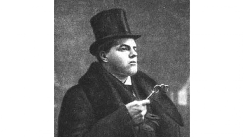 """The Futurist David Burliuk"" circa 1910 Wikicommons"