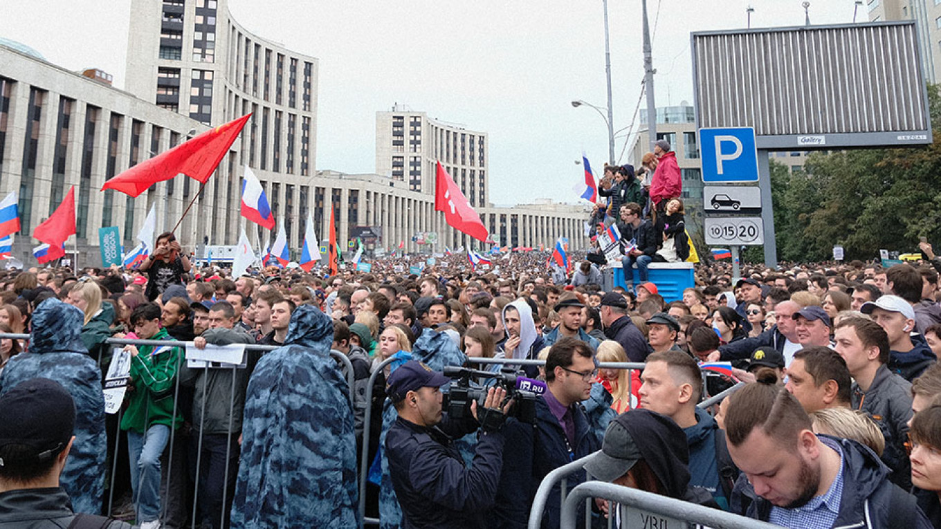 Moscow's 50,000-Strong Opposition Protest, in Quotes