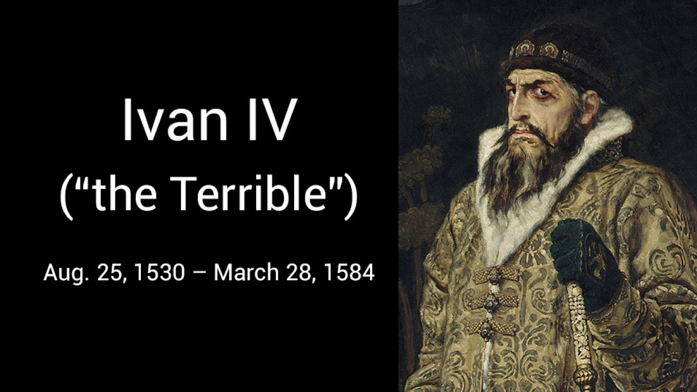 On This Day Ivan the Terrible Was Born - The Moscow Times