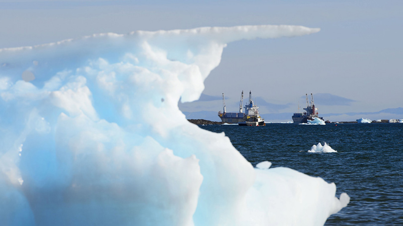Russian Arctic Shipping Up 430% in Three Years - The Moscow Times