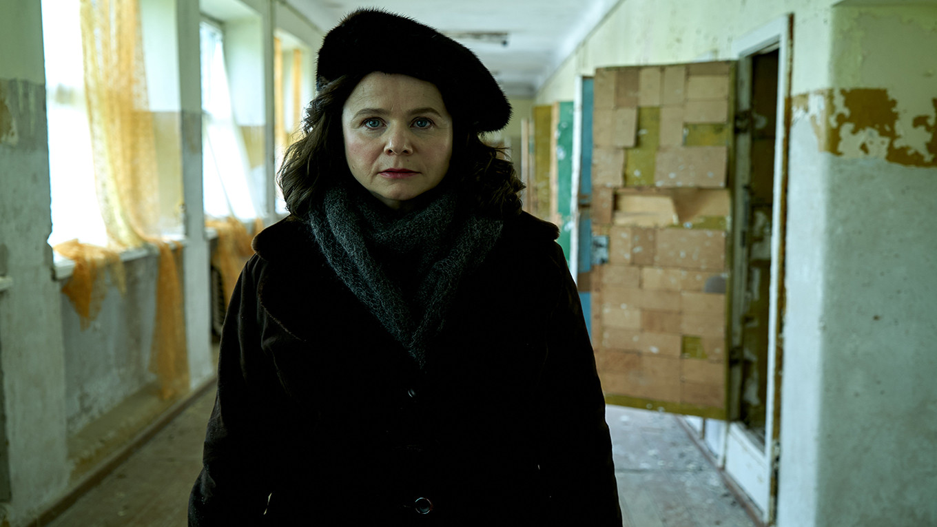 Emily Watson as the implacable Ulana Khomyuk Liam Daniels for HBO