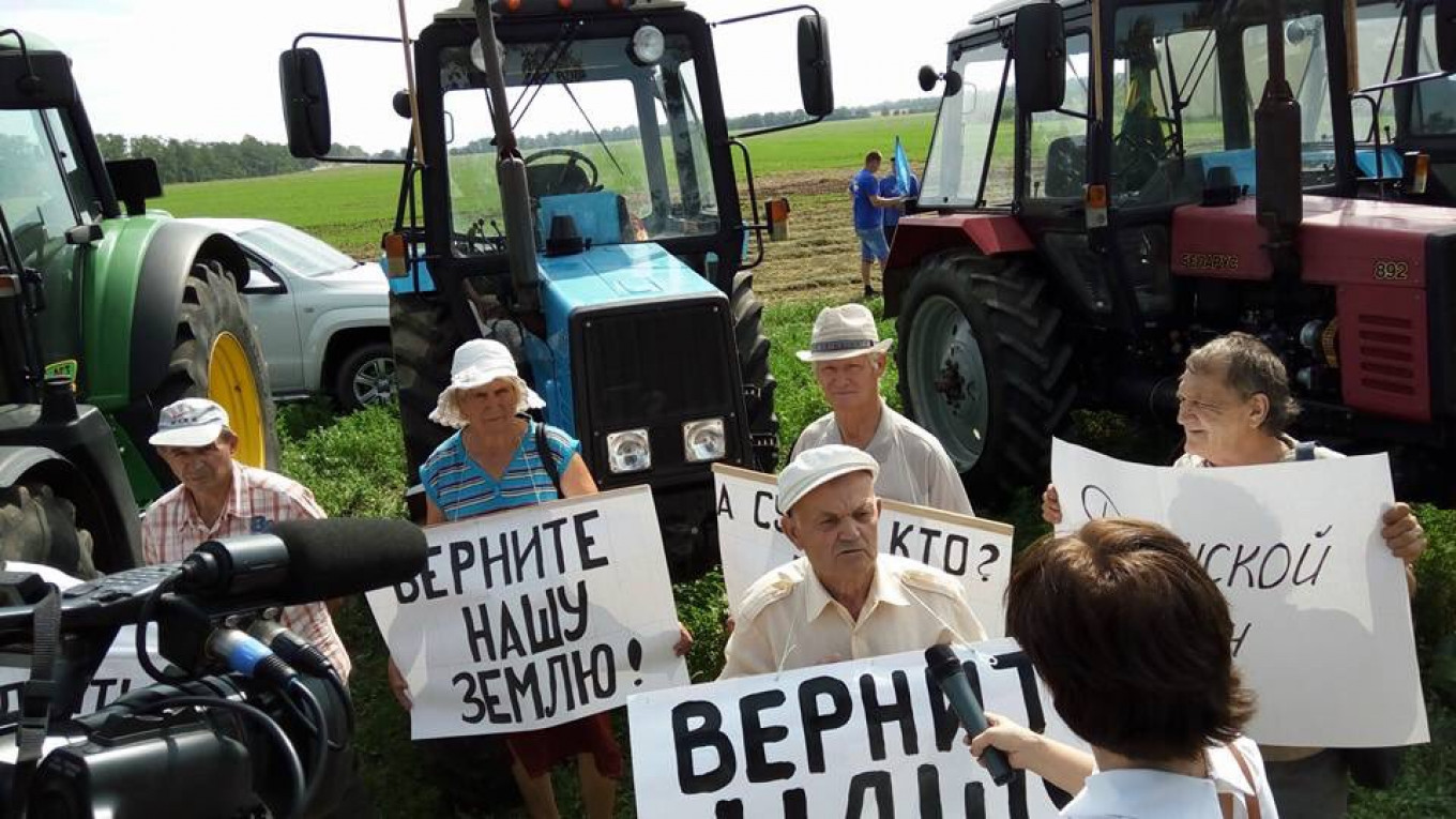 Protesters say a mediation offer from government group came to nothing Vasily Melnichenko