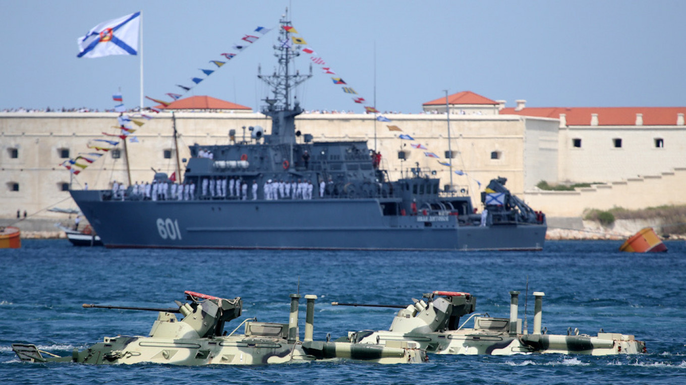 Russia Deploys All Black Sea Submarines as NATO Kicks Off Drills - The Moscow Times