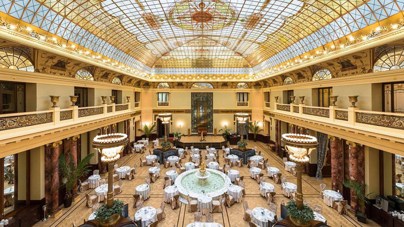 Hotel Metropol in central Moscow metropol-moscow.ru