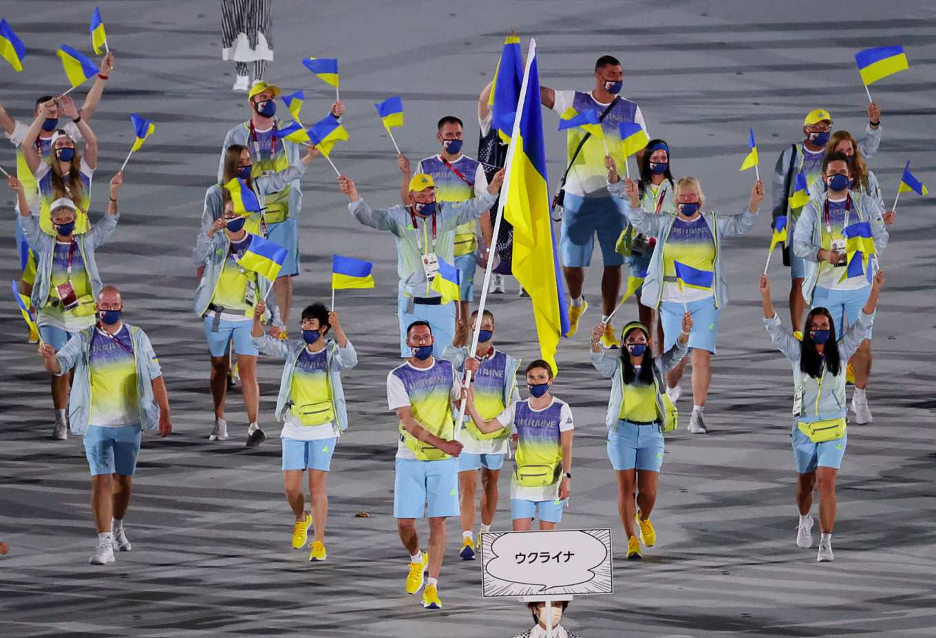 Russian State TV Cuts from Ukraine to Ad in Olympic Opening Ceremony Broadcast