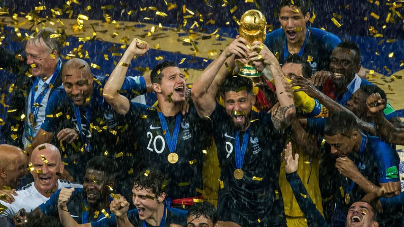 A record audience of more than 3.5 billion people watched this year's World Cup in Russia. Igor Ivanko / Moskva News Agency