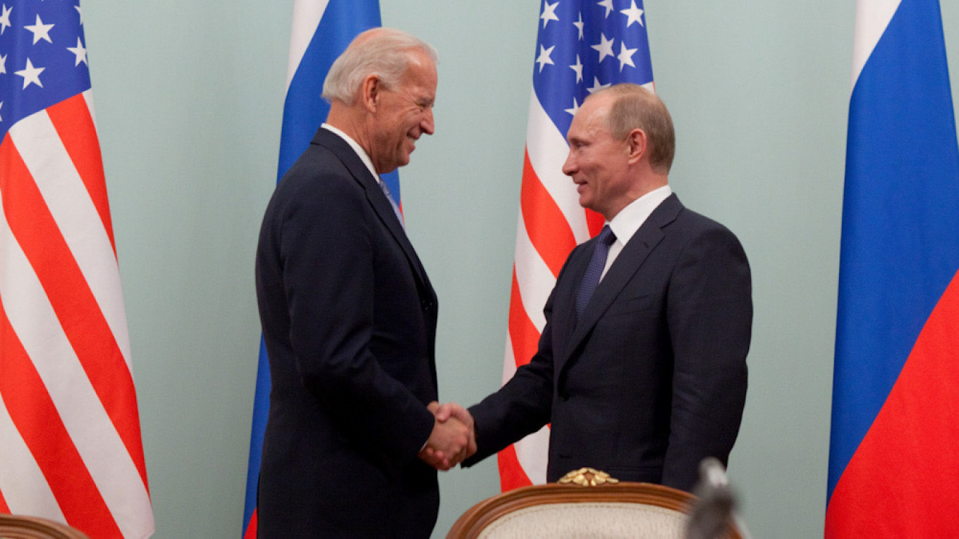 Biden Signals Tougher U.S. Stance Against Russia in First Call With Putin – The Moscow Times
