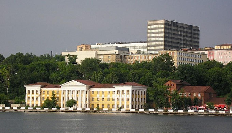 Izhevsk, capital of Udmurtia, has a population over half million.
