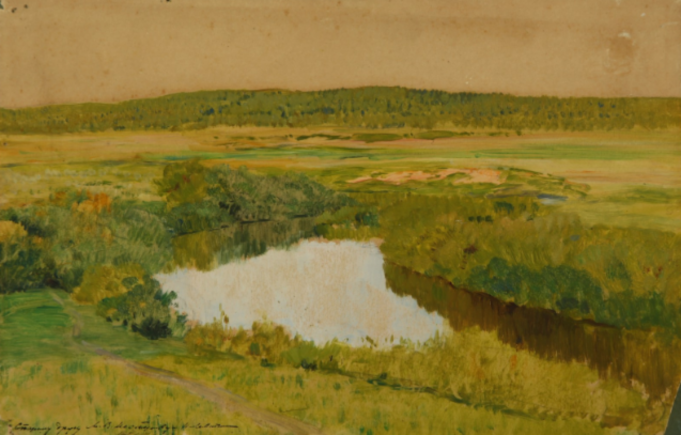Istra, painted by Isaac Levitan for Anton Chekhov, who knew and loved this part of Russia. New Jerusalem Museum