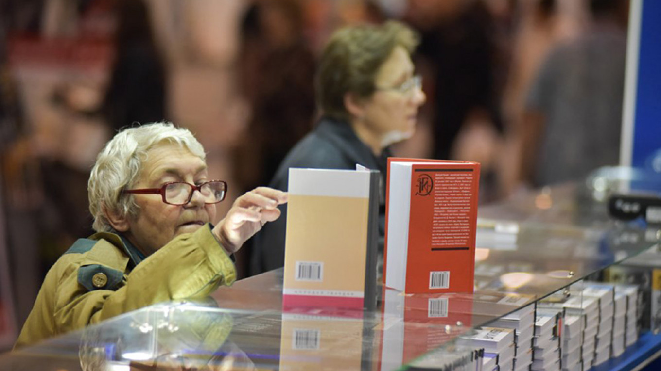 The Pushkin House short- and longlists send readers to their local libraries or bookstores. Moskva News Agency