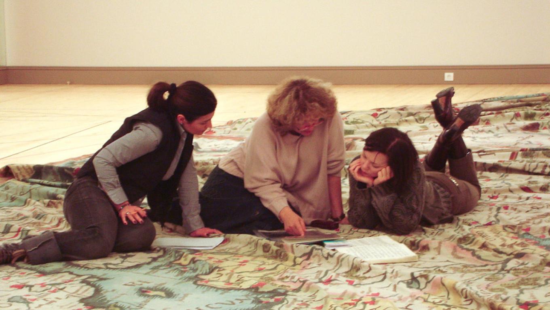 Репетиция детской сцены в Опере Монте-Карло 2006 года, режиссер Ирина Браун Архив Ирины Браун