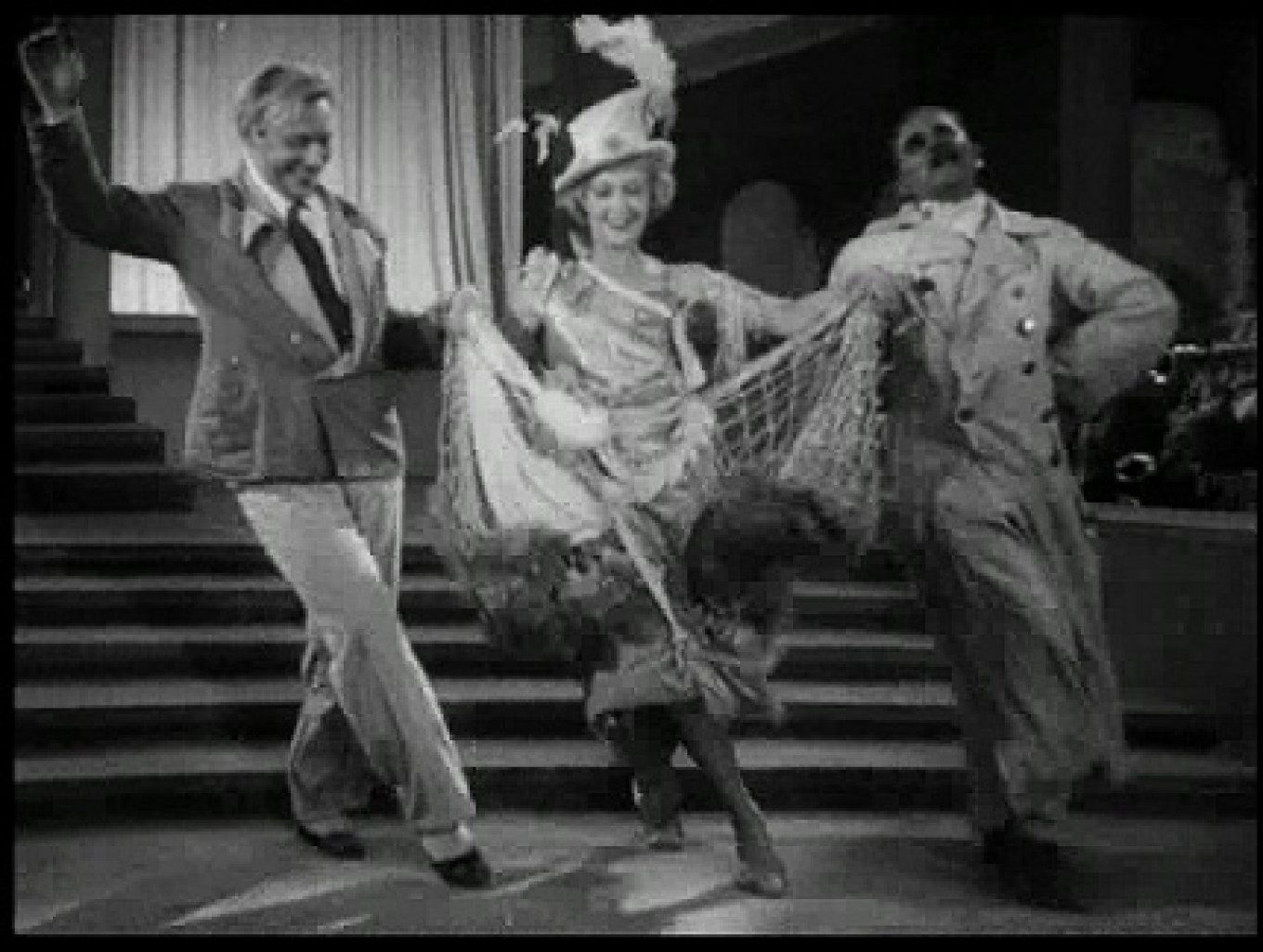 """Dancing to jazz in the 1934 Soviet """"Jolly Fellows."""" YouTube"""