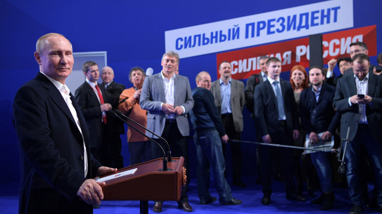 Vladimir Putin after his reelection in March 2018. Kremlin.ru