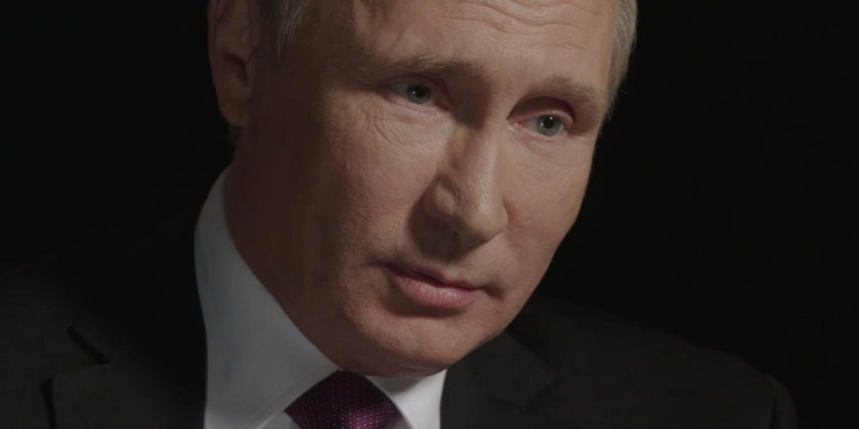 Sobchak was surprised that Vladimir Putin agreed to answer questions on camera. Courtesy of Vera Krichevskaya