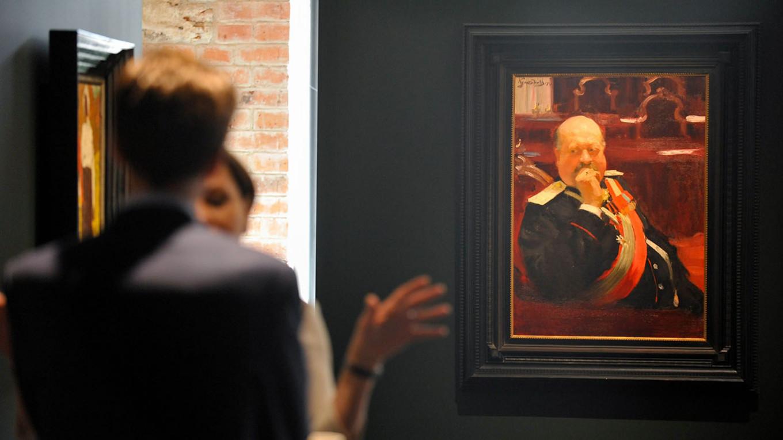 Boris Kustodiev exhibition. Aleksandr Avylov / Moskva News Agency