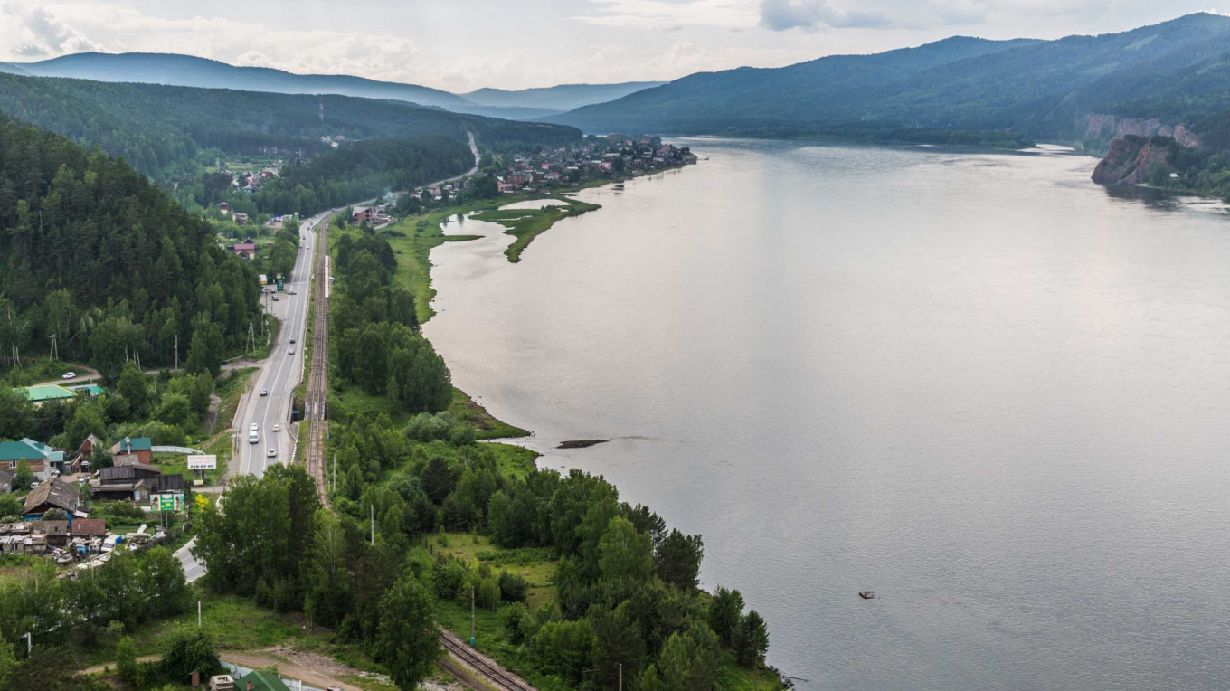 The Yenisei River				 				Wikicommons