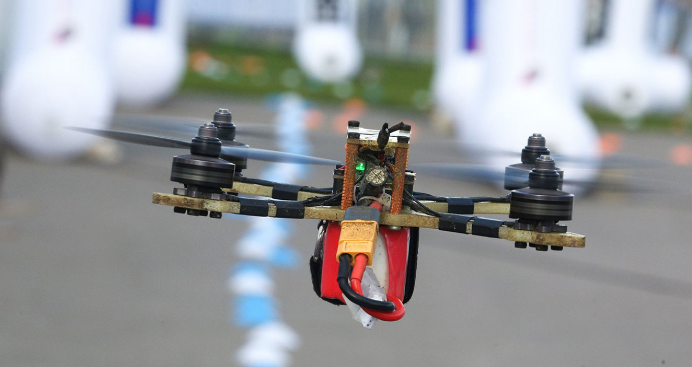 Drones will compete in the Aviarobot race. Kirill Zykov / Moskva News Agency