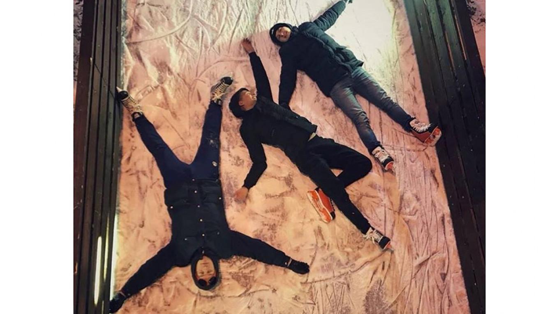 Tired skaters  Courtesy of Gorky Park
