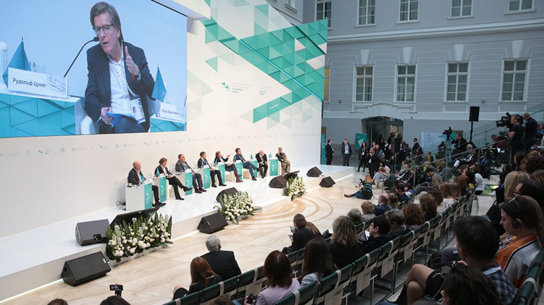The St. Petersburg Cultural Forum. Irina Motina / TASS