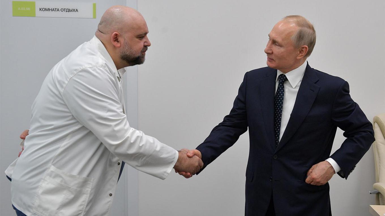 Alexei Druzhinin / POOL / TASS