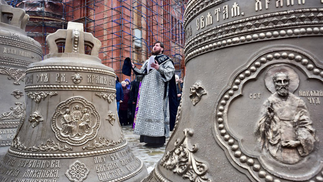 Russia Builds 3 New Churches a Day, Orthodox Leader Says