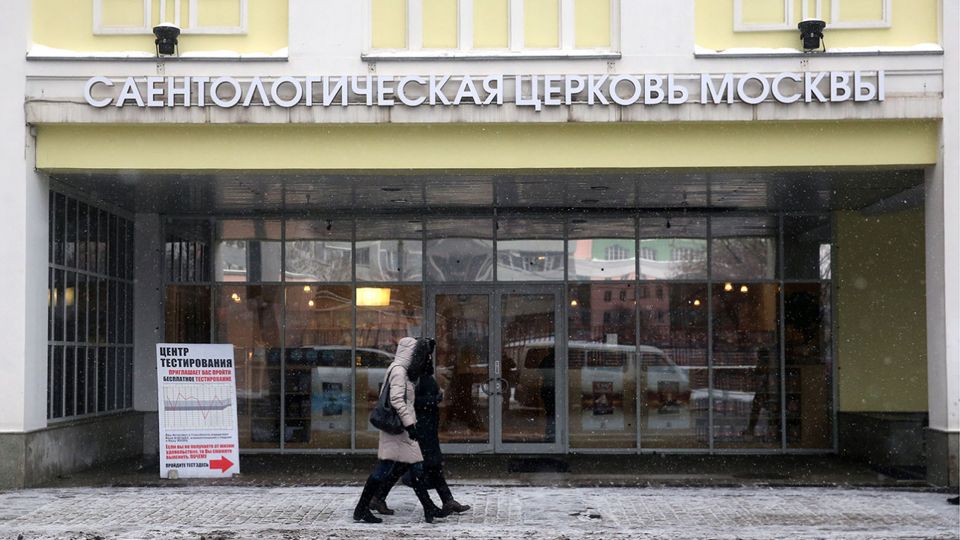 Russia Bans Church of Scientology With 'Undesirable' Tag