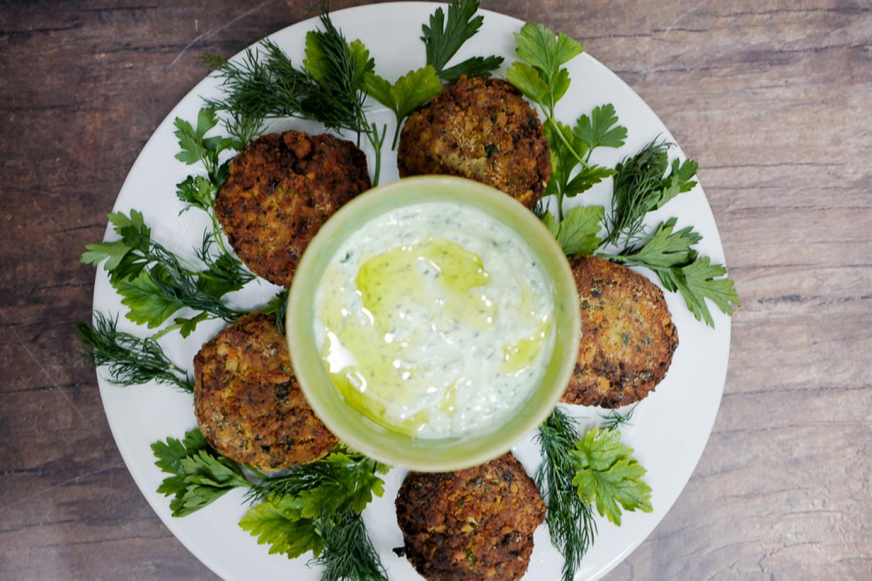 Serve with tangy yogurt sauce. Jennifer Eremeeva / MT