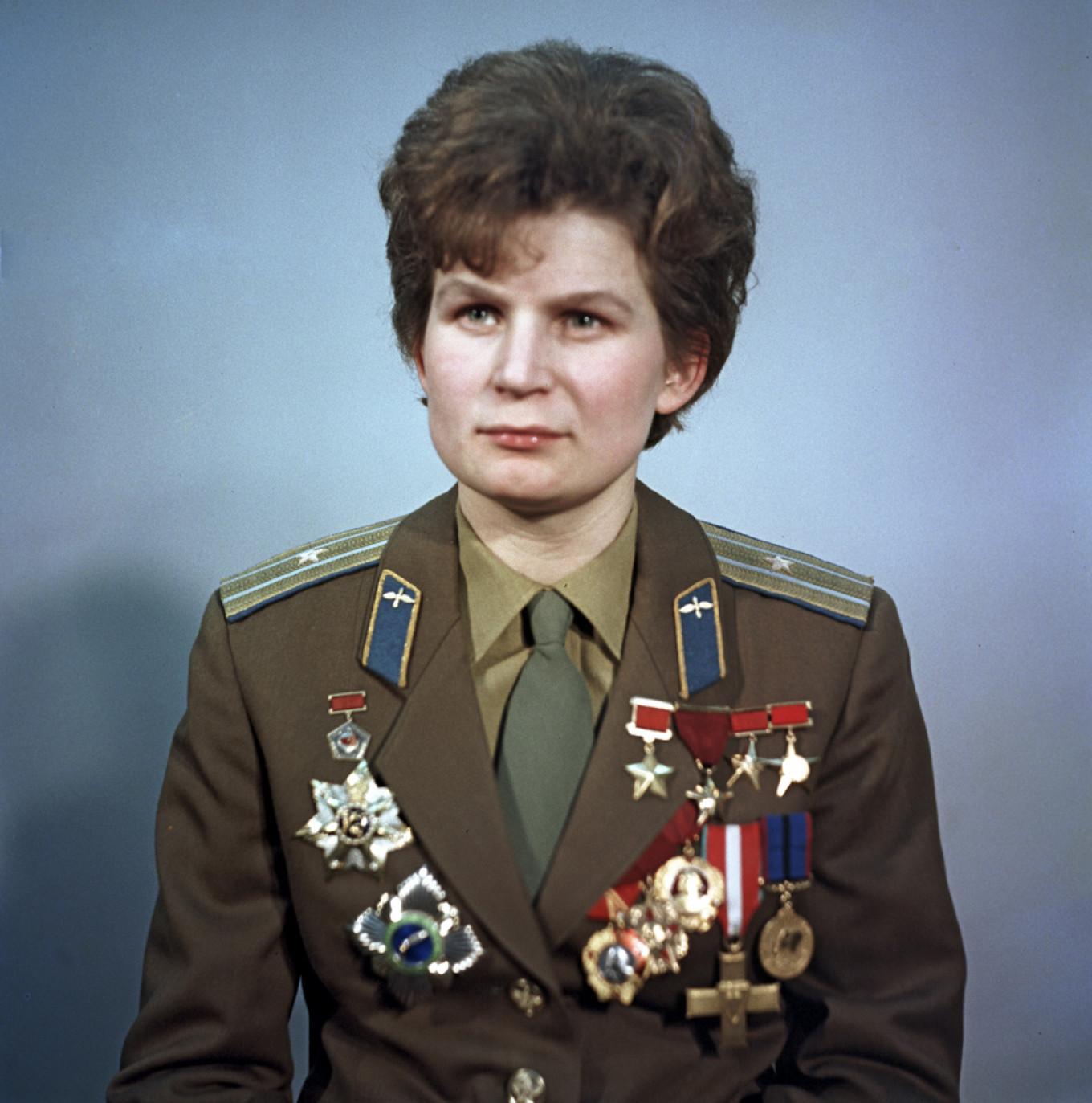 Valentina Tereshkova in 1969. Alexander Mokletsov / RIA NOVOSTI