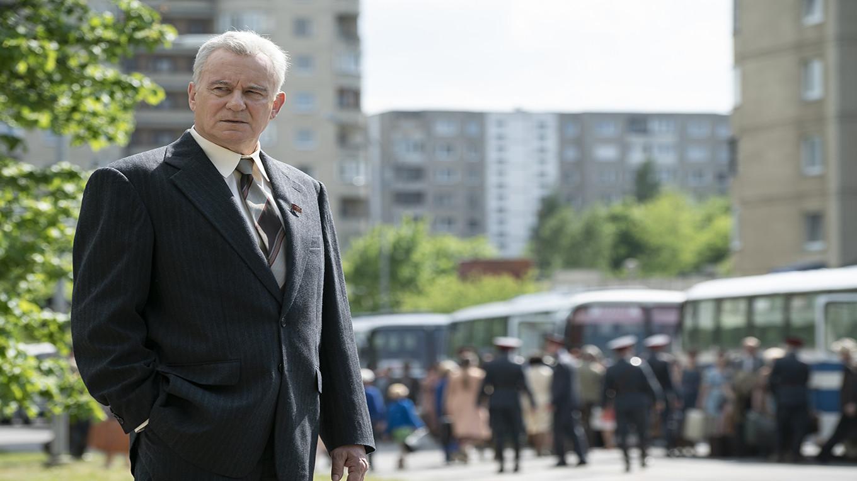 Stellan Skarsgard as Boris Shcherbina Liam Daniels for HBO