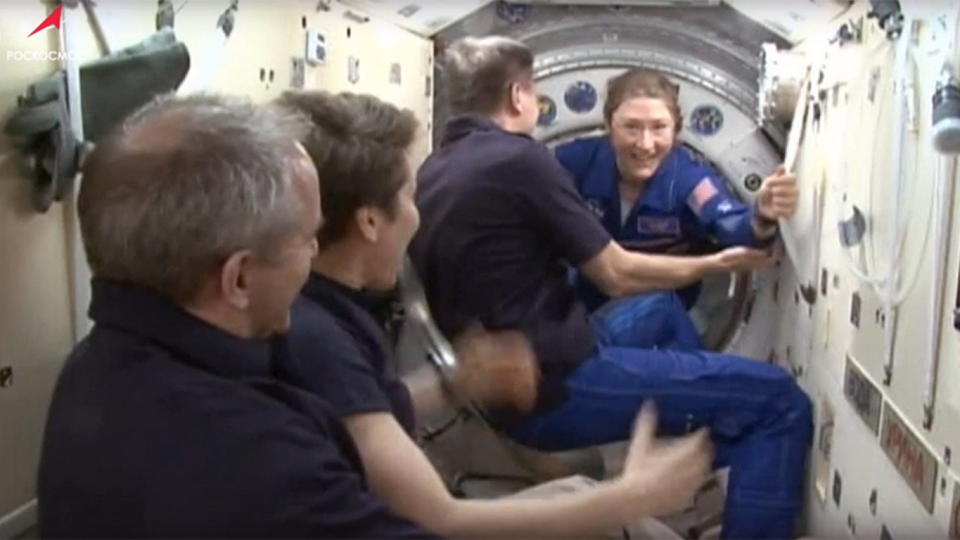 Russian Spacecraft Arrives at International Space Station After Successful Launch