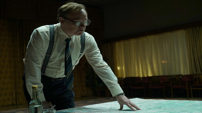 Jared Harris as Valery Legasov Liam Daniels for HBO