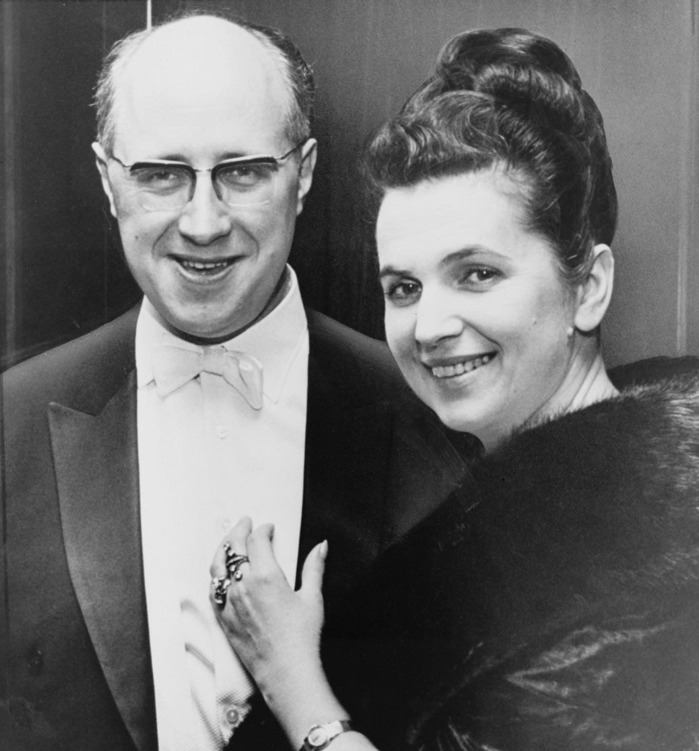 'Two in the World' is a portrait of the 52-year union between Rostropovich and soprano Galina Vishnevskaya. STANLEY WOLFSON