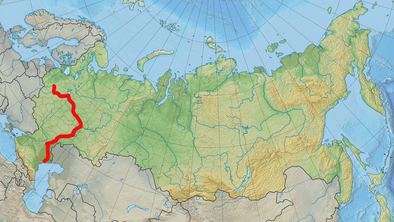 Russia S Largest Rivers From The Amur To The Volga The Moscow Times