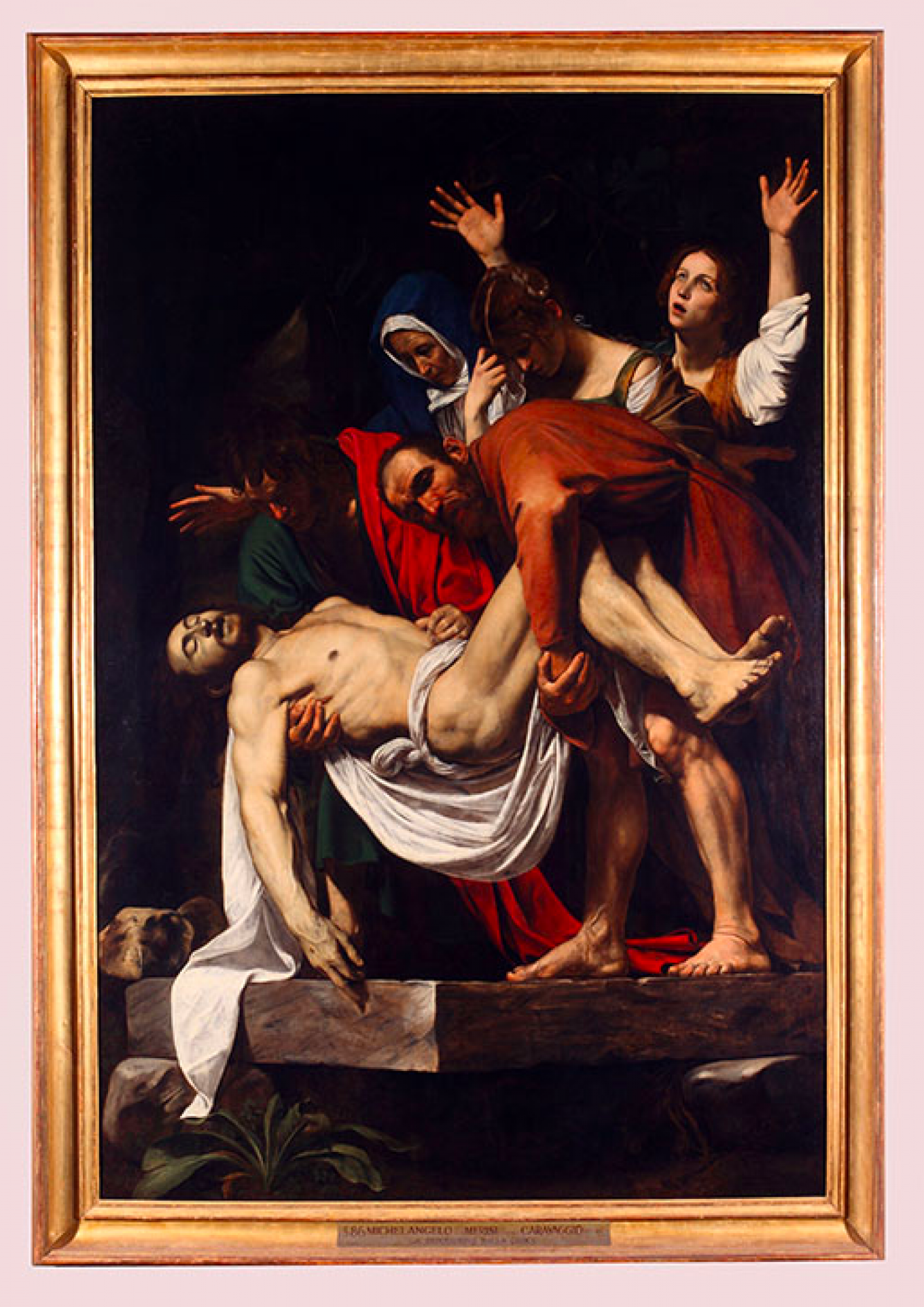 """The Deposition"" by Caravaggio (1603-1604) Tretyakov Gallery"