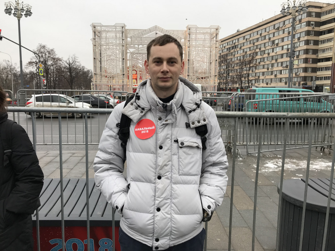 """I am prepared to be shot if it comes to that,"""" said Sergei Ivanchenko, 27. MT"""