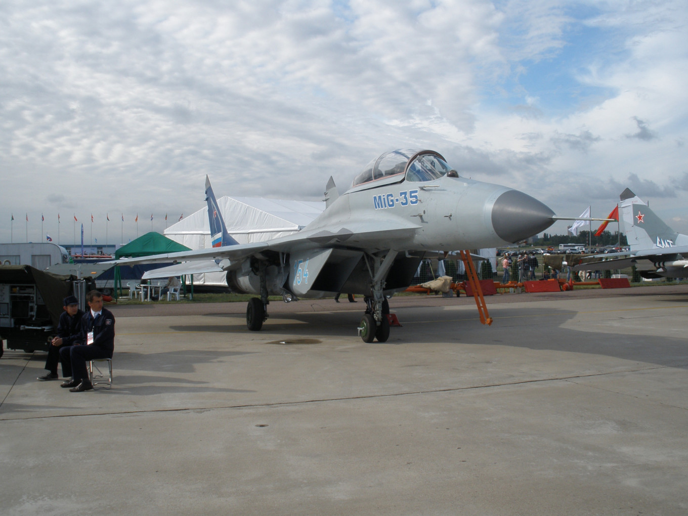 Russian Air Force Receives First New MiG-35 Fighters