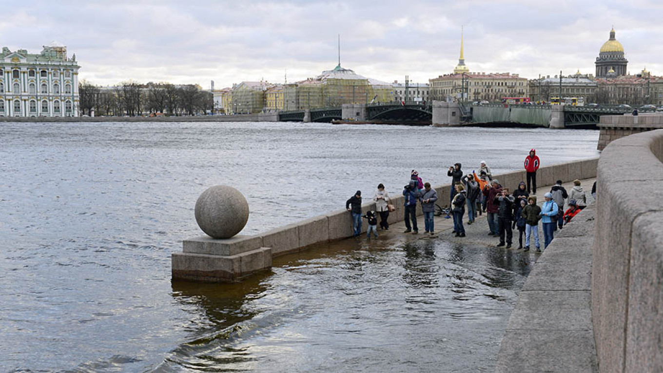 Floods present an ever growing danger to the city, experts warn.  				 				Sergei Yermokhin / TASS
