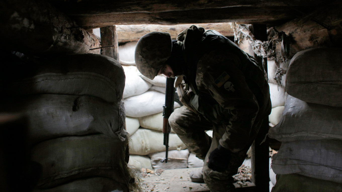 2 Ukrainian Soldiers Killed in Clashes with Separatists – The Moscow Times