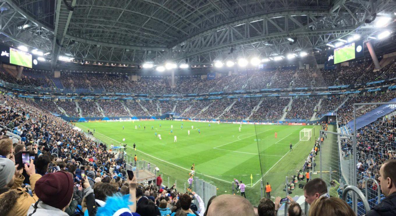 Gazprom Arena FC Zenit Stadium (Gazprom Arena) / Vkontakte