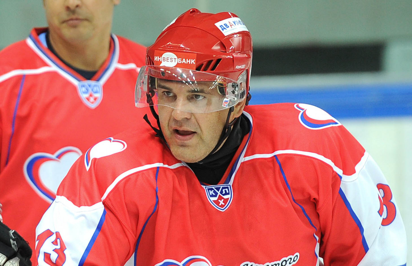 Mishustin organized some of the first exhibition hockey games for Russia's elite. Valery Sharifulin / TASS