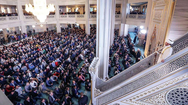 Russia's Muslims Celebrate Kurban Bairam