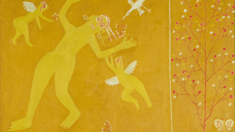 """Spring. Seasons of the Year (New Primitivism)"" (1912) by Mikhail Larionov  Courtesy of the Tretyakov Gallery"
